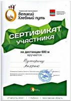 """Рыбинский Полумарафон """"Великий хлебный путь"""""""