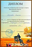 Первенство Ярославской области по паралимпийскому конкуру 25.09.2016 г.
