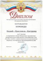 Открытый музыкально-патриотический фестиваль «Калейдоскоп» для молодых людей с ограниченными возможностями здоровья, г. Кострома  2-3 декабря 2016 г.