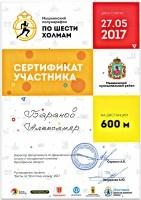 """Мышкинский полумарафон """"По шести холмам"""" 27 мая 2017 г."""