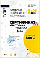 Тутаевский полумарафон «МАЙ.МИР.МОЛОДОСТЬ.» 2018.
